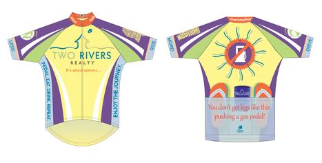 It was great fun designing bike jerseys for Two Rivers Realty! | Flynn Design | Scoop.it