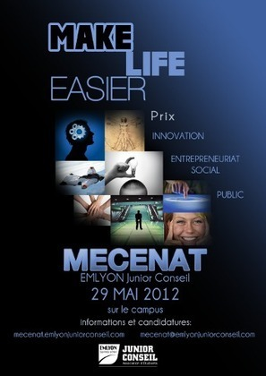 Mécénat EMLYON Junior Conseil 2012 - Make Life Easier - 29 Mai | AFF News | Scoop.it