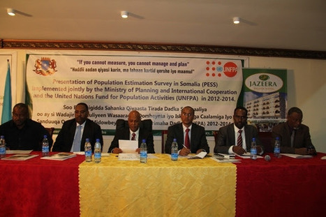 Presentation on the Population Estimation Survey for Somalia - Horseed Media   Research Capacity-Building in Africa   Scoop.it
