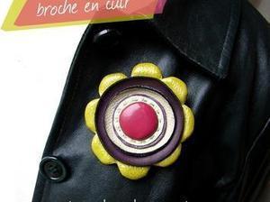 Réaliser une #broche en #cuir #idée #DIY #récup | Best of coin des bricoleurs | Scoop.it
