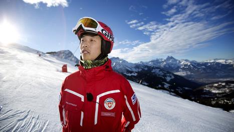 Un moniteur de ski chinois glisse à Villars | Chinese tourism In france | Scoop.it