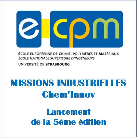 Lancement de la 5ème édition des Missions Industrielles de l'ECPM | ECPM Strasbourg | Scoop.it