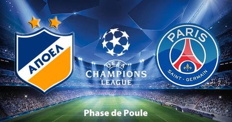 Composition APOEL Nicosie - PSG, 21 octobre 2014 | Paris sportifs & bookmakers | Scoop.it