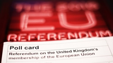 EU referendum: economic message lost on voters | ESRC press coverage | Scoop.it
