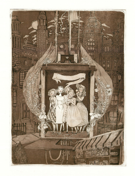 Gorgeous Etchings Based on Sylvia Plath's 'The Bell Jar' | Sylvia Plath | Scoop.it