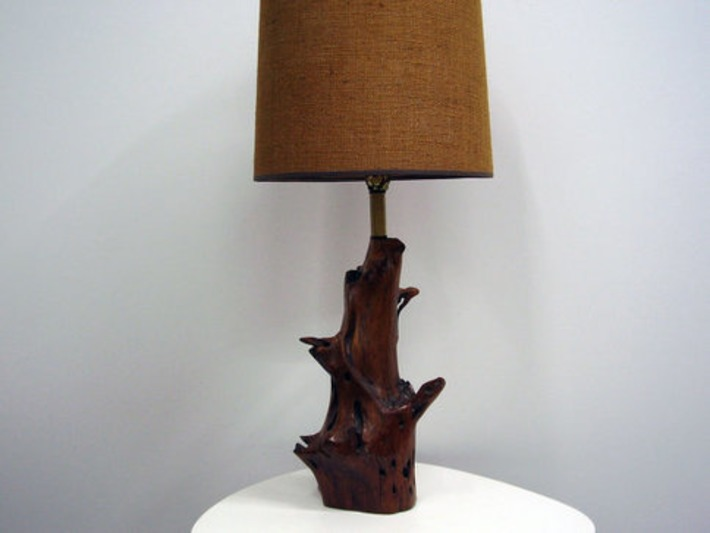 Vintage Mid Century Driftwood Lamp by ljindustries on Etsy   Kitsch   Scoop.it