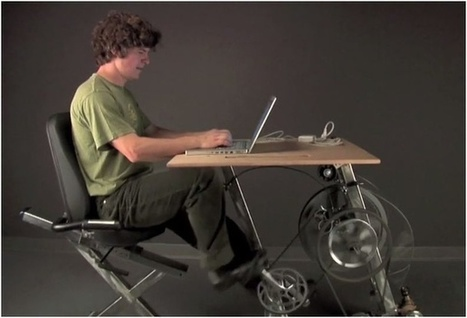 Generate Your Own Electricity by Pedaling This Bicycle Desk | L'énergie en ville | Scoop.it