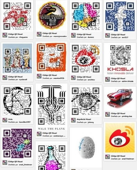 Crea y Aprende con Laura: Visualead. Códigos Qr atractivos | QR Code & Education | Scoop.it