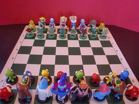 Zelda Chess Set: A Link to the Board Game | All Geeks | Scoop.it
