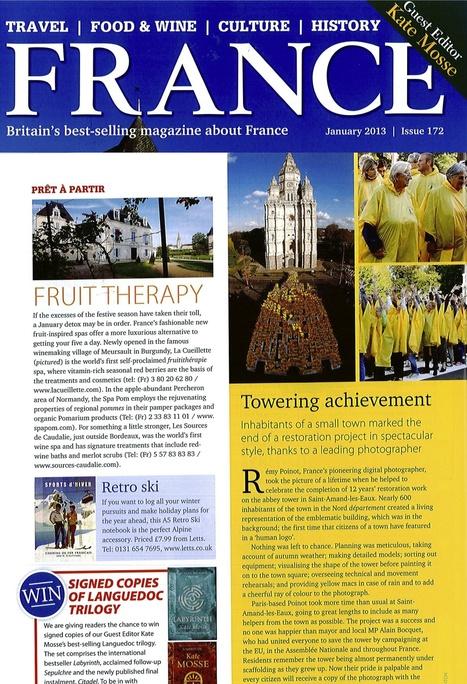 Le magazine FRANCE incite les anglais à la Fruit Therapy avec Pomarium   Pomarium   Scoop.it