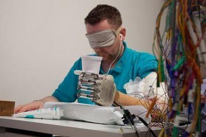 Une main bionique restitue le sens du toucher | Tout le web | Scoop.it