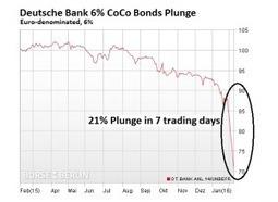 Deutsche Bank tente d'éviter la panique en rachetant sa dette, mais jusqu'à quand? - Le Blog Finance | Econopoli | Scoop.it