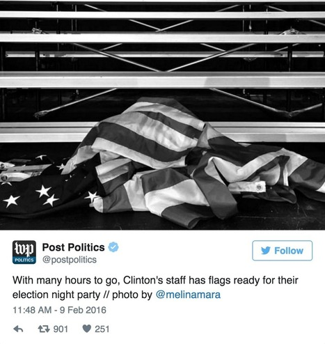Hillary Didn't Think Anyone Was Looking When She Did THIS To The American Flag, Absolutely Sickening… | MOVIES VIDEOS & PICS | Scoop.it