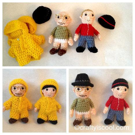 Breaking Bad inspired Amigurumi Crochet PATTERNS Walt & Jesse | Fiber Arts | Scoop.it