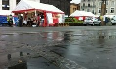 Une nuit et une journée sous la pluie pour les sans-abris de la place ... - France 3   Association solidaire, aide alimentaire , aide aux personnes en difficulté   Scoop.it