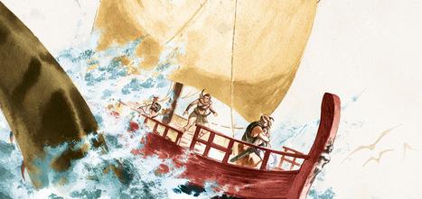 Les derniers Argonautes - La mer du Destin (Glénat) | Salvete discipuli | Scoop.it