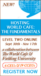 The World Cafe Community - Hosting Conversations about Questions that Matter | Art of Hosting | Scoop.it