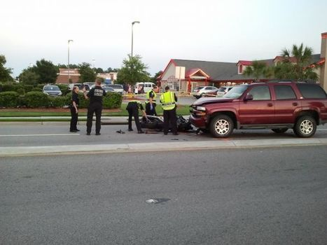MBPD on scene of serious motorcycle crash - WMBF   motorcycles   Scoop.it