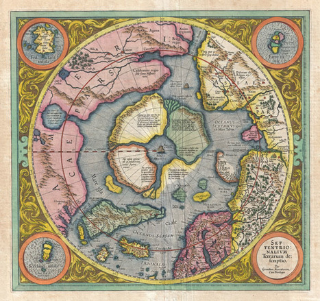 Speculative Polar Cartography – Then and Now | Geographicus ... | Cartography | Scoop.it
