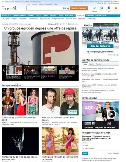MSN.fr s'oriente vers le social | ACTUALITÉ DU MARKETING DIGITAL ET DE L'E-PUB | Scoop.it