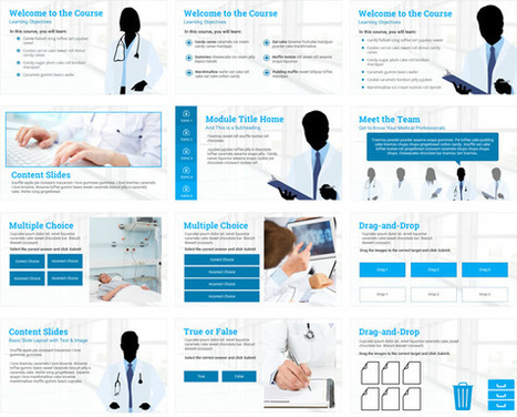 Storyline 2: Medical-Theme Tabs Template - Downloads - E-Learning Heroes | elearning stuff | Scoop.it