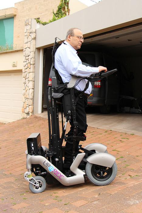 UPnRIDE: This Segway-Like Vehicle Will Help Quadriplegics Stand Tall   ZenStorming - Design Raining Innovation   Scoop.it