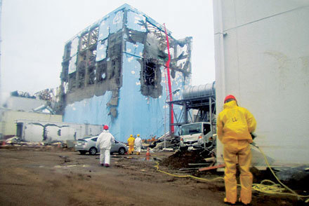 (eng] Peu de matières radioactives de Fukushima ont atteint l'Europe | Chemical & Engineering News | Japon : séisme, tsunami & conséquences | Scoop.it