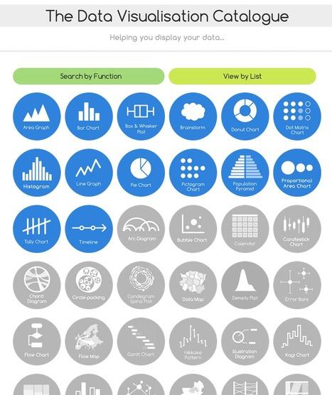 The Data Visualization Catalogue | Visual.ly Blog | Infographics in het onderwijs | Scoop.it