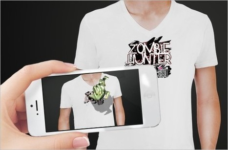 Augmented Reality Fashions With App And QR Code | QRiousCODE | Randomgrid | Scoop.it