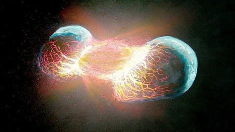Científicos revelan que la Tierra está compuesta de dos planetas | GrandesMedios.com | Nuevas Geografías | Scoop.it