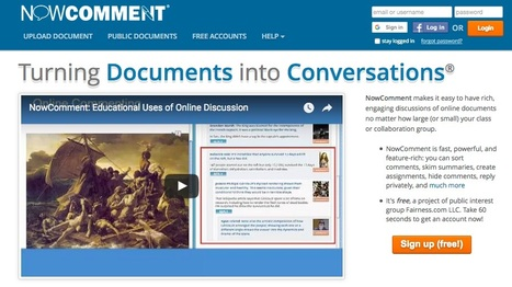 NowComment.com | Tools for Teachers & Learners | Scoop.it