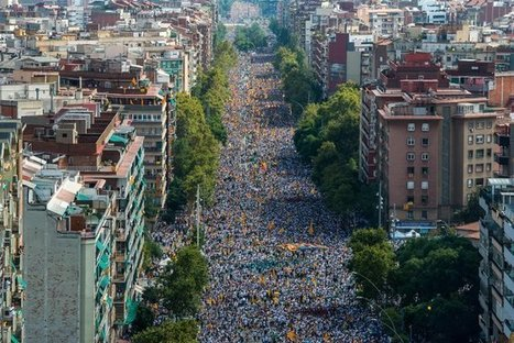 Catalans Campaigning for Independence March in Barcelona | World Politics and news | Scoop.it