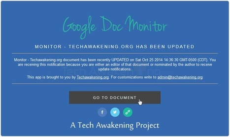 How To: Get Email Notifications When Any Google Document is Updated   Google Apps Script   Scoop.it