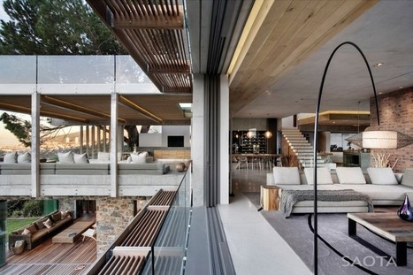 Glen 2961 House by SAOTA and Three 14 Architects | South Africa | Breathtaking Architecture | Scoop.it