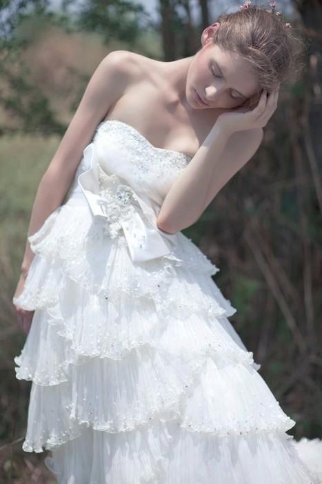 Fashion & Luxury   Angelie Pangilinan - wedding dress   fashion   Scoop.it