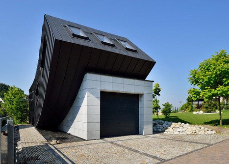 Domo Dom house by Tadeusz Lemanski arches up to face the sky | Innovative Architecture and Façade design | Scoop.it