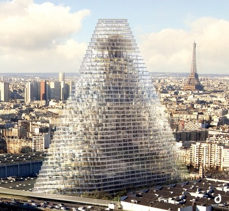 Aperçu de la future Tour Triangle à Paris | Architecture pour tous | Scoop.it