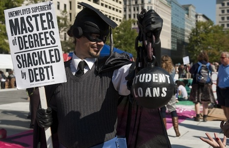 8 Ways to Keep Your Student Loan Debt From Crushing You | Student Jobs | Scoop.it