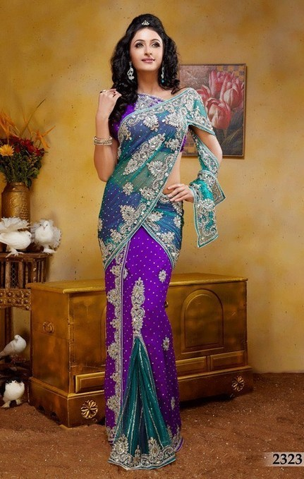 Beautiful Indian Bridal | Sarees Collection 2014 - ..:: Fashion Wd Passion ::.. | Fashion | Scoop.it