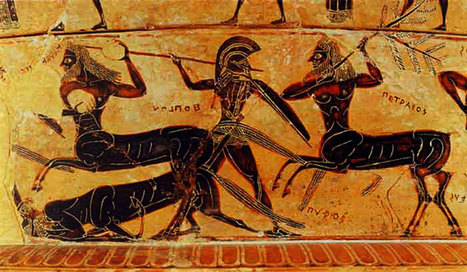 Speaking of Centaurs…Nestor's Tale in Iliad 1 | LVDVS CHIRONIS 3.0 | Scoop.it