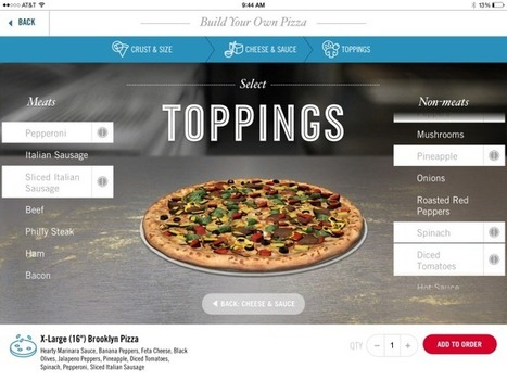 Domino's Launches Its Pizza Ordering App For iPad With 3D Custom   Machinimania   Scoop.it