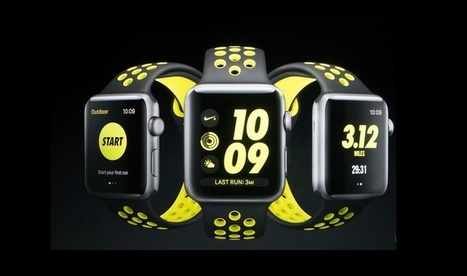 Montre connectée : l'Apple Watch Nike+ sort demain | Geeks | Scoop.it