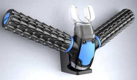 Out Of This World: 'Triton Oxygen Respirator Extracts Air Underwater' | leapmind | Scoop.it