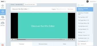 WixED Teaches You How to Build a Website...on Wix | Moodle and Web 2.0 | Scoop.it