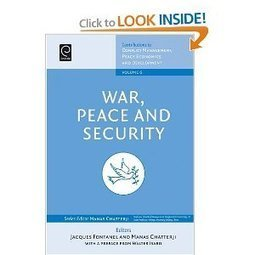 Amazon.com: War, Peace, and Security (Contributions to Conflict Management, Peace Economics and Development) (9780444532442): Fontanel Chatterji: Books | Barbaric Studies | Scoop.it