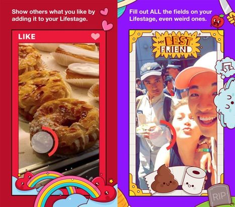 Lifestage - Facebook's Newly Launched Standalone iOS app for Teenagers, Turns Bios into Video Profiles | Get amazed with iPhone App (Product) | Scoop.it