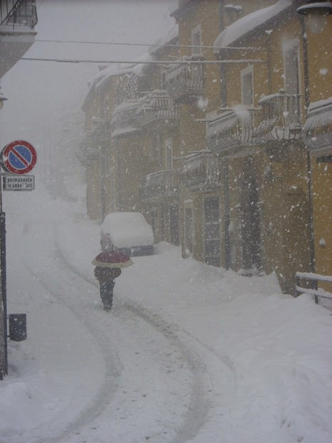 Mo' Basta!:a foreigner point of view about the snow blizzard that swept across Le Marche | Le Marche another Italy | Scoop.it