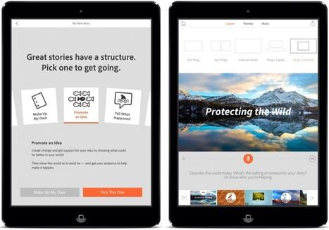 Adobe Debuts 'Adobe Voice' Video Storytelling App for iPad | iPad classroom | Scoop.it