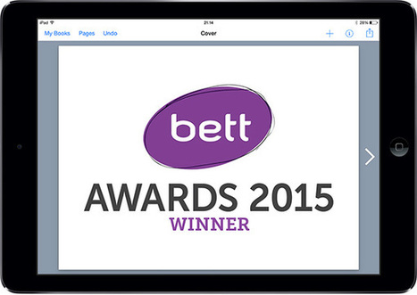 Book Creator wins Bett Awards for Best Educational App | Technology in the Classroom | Scoop.it