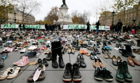 Paris climate protesters banned but 10,000 shoes remain – video | Visual Soul | Scoop.it
